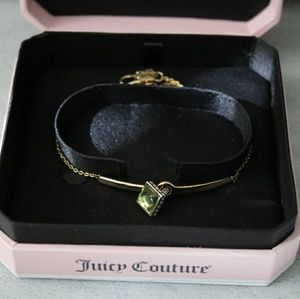 Juicy Couture Emerald Birth Stone Gold Bracelet